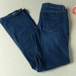 Mossimo Curvy Boot Cut Jeans 14 L Tall Stretch